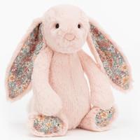 jELLYCAT 邦尼兔 花耳朵桃色邦尼兔