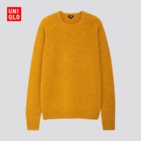 UNIQLO 优衣库 419198 男士羊仔毛圆领针织衫