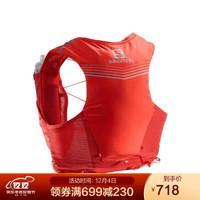 萨洛蒙(Salomon)透气饮水系统越野背包 强制装备 ADV SKIN 5 SET 红色 C13071 L