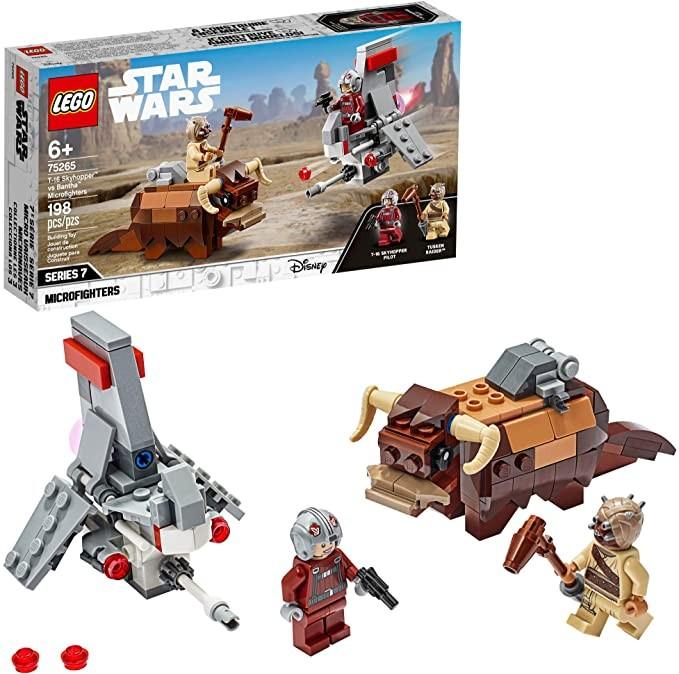 百亿补贴 : LEGO 乐高 星球大战系列 75265 跃空号VS班沙兽 迷你战机套装