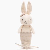 jELLYCAT 邦尼兔 美人鱼兔子 乳白色 22cm