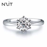 N2it MAJ00018 六爪皇冠莫桑石戒指 一克拉