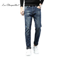 百亿补贴:La Chapelle 拉夏贝尔 男士加绒牛仔裤