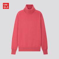 UNIQLO 优衣库 418677 女款羊绒两翻领针织衫