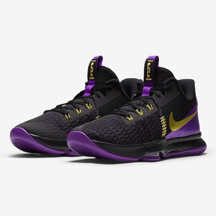 NIKE 耐克 LeBron Witness V EP CQ9381-001 男女款篮球鞋