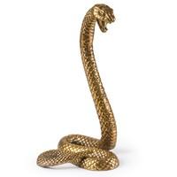 艺术品:HOWstore seletti奇珍异物系列铝制摆件门挡蛇狼头骨