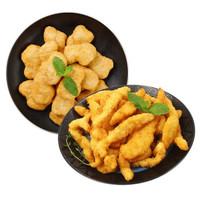 京东PLUS会员:FUHUA 馥华 原味鸡块1kg+鸡柳 900g