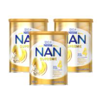 银联返现购:Nestle 雀巢 超级能恩金盾 婴幼儿奶粉4段 800g *3罐装