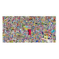 艺术品:村上隆 多啦a梦任意门 版画艺术收藏品 横幅大尺寸50*102cm