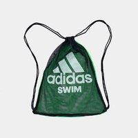 阿迪达斯游泳双肩包包沙滩包网格衣物鞋子整理收纳袋束口袋