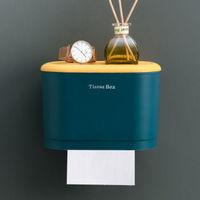 移动专享:桐姿卫生间纸巾盒 深海蓝小号