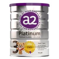 新西兰原装进口 a2 白金版 幼儿配方奶粉 3段(1-3岁) 900g/罐 *3件