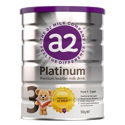 a2 艾尔 白金版 幼儿配方奶粉 3段 900g