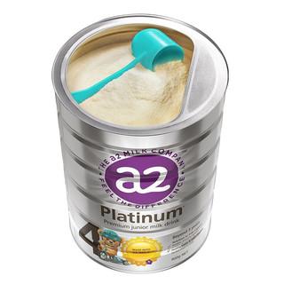 a2 艾尔 Platinum系列 儿童奶粉 澳版 4段 900g