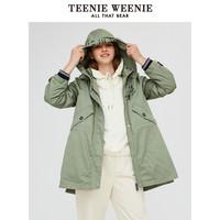 聚划算百亿补贴:Teenie Weenie TTJP94T52K 女士棉衣外套