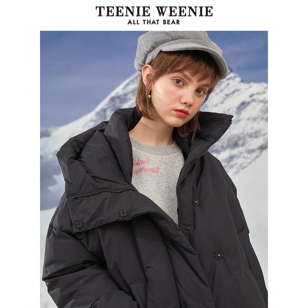 Teenie Weenie TTJD94V04A 女士中长款羽绒服