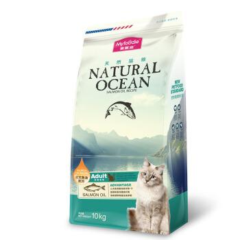 Myfoodie 麦富迪 三文鱼油天然成猫粮 10kg