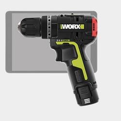 WORX 威克士 WU130 多功能锂电钻 单电一充套装