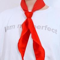 爱卡堂 小学生红领巾 标准棉 5条装