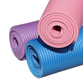 LaNGBISU 浪比速 瑜伽垫 61*185cm 10mm 粉色 *2件