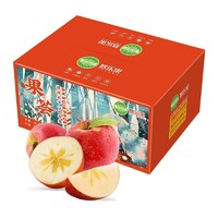 京觅 悠乐果 阿克苏冰糖心苹果(单果80—85mm)5kg *4件 +凑单品