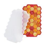 京东京造 硅胶冰格模具 西红色