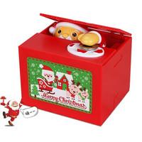 移动专享:KIDNOAM  圣诞老人电动恶作剧存钱罐