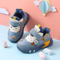 Babaya 芭芭鸭 儿童加绒运动鞋