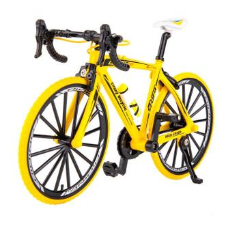 衾美 合金自行车模型 可联动