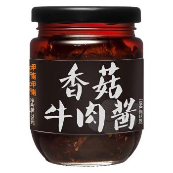 呷哺呷哺 香菇牛肉酱 拌饭拌面下饭菜  220g *6件