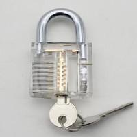 透明一字挂锁。练习锁练功锁,配件