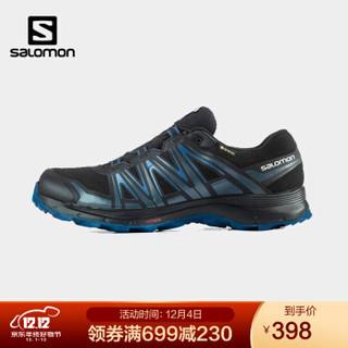 萨洛蒙(Salomon)男款 户外运动防水透气舒适耐磨日常通勤徒步鞋 XA SIERRA GTX 黑色 412562 UK8.5(42 2/3) *3件