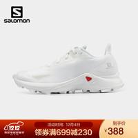 萨洛蒙(Salomon)女款 户外运动休闲穿搭透气舒适越野跑鞋 ALPHACROSS BLAST 白色 411039