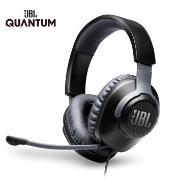 JBL QUANTUM 100 头戴式游戏耳机 *2件