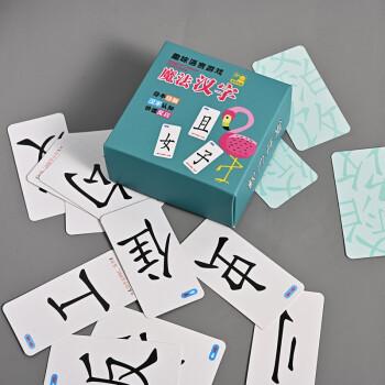 移动专享:靓趣 儿童拼偏旁部首组合识字卡片