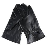 向右围 加绒触屏皮手套 小号 送大号皮手套