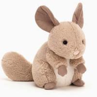 jELLYCAT 邦尼兔 jellycat 小短腿系列 调皮毛丝鼠桑迪 15cm