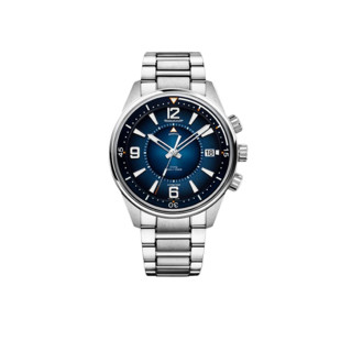 JAEGER-LECOULTRE 积家 北宸系列 Q9038180 男士机械手表 42mm 蓝盘 银色精钢表带 圆形