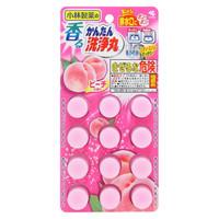 超值双12、京东PLUS会员:KOBAYASHI 小林制药 管道疏通清洁丸 蜜桃味 12枚 *6件