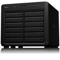 Synology 群晖 DS2419+ 12盘位 NAS网络存储服务器