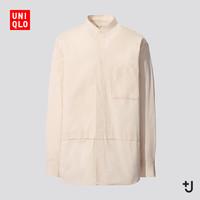 UNIQLO 优衣库 436114 男装宽松立领衬衫