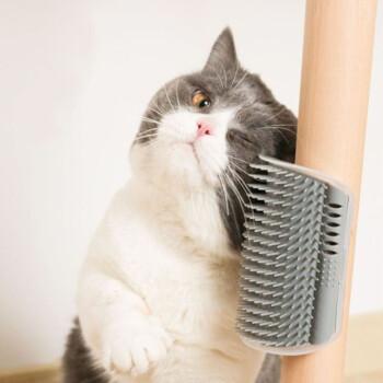 Vieruodis 猫玩具墙角蹭毛器 2个装 配猫薄荷2袋