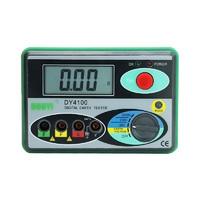 多一接地电阻测试仪数字高精度接地电阻表防雷摇表地阻检测DY4100