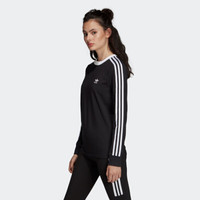 10日0点:adidas Originals 三叶草 DV2608 3 STR LS TEE 女款长袖T恤