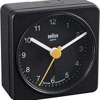 Braun 博朗 BNC002 BKBK 石英機芯電池鬧鐘,黑色
