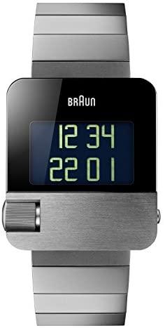 Braun 博朗 男式 PRESTIGE 带数字显示手表