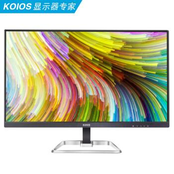 KOIOS K2421Q 23.8英寸2K 2560x1440 LG模组IPS 商用办公 电脑显示器 黑色
