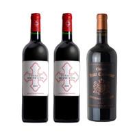 12.12预售、88VIP:拉朗徳波美侯莫塞城堡 干红葡萄酒 750ml*2支 + 嘉 德纳城堡 干红葡萄酒 750ml