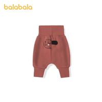 Balabala 巴拉巴拉 宝宝加绒裤子
