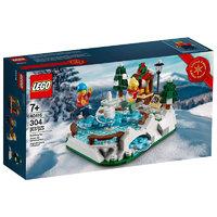 LEGO 乐高 40416 冬季溜冰场